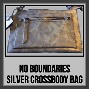 No Boundaries Silver  Marie Crossbody